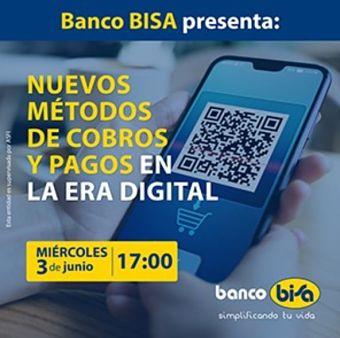 Banco BISA inicia ciclo de webinars para  promover el uso de la tecnología online