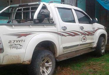 Alcalde de Palos Blancos involucrado en consumo de bebidas alcohólicas en vehículo oficial