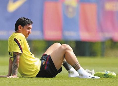 Messi,-con--pequena-contractura-,-sigue-sin-entrenarse-con-el-grupo