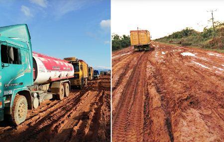 Reportan-mal-estado-del-tramo-San-Borja-Yucumo,-piden-a-la-ABC-mantenimiento-urgente
