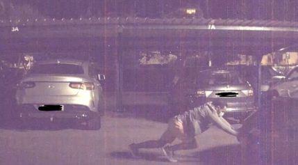 Un-Tesla-graba-el-momento-en-que-dos-ladrones-roban-un-Porsche