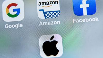 -Amazon,-Apple,-Facebook-y-Google-encaran-una-audiencia-antimonopolio-en-el-Congreso-de-EEUU