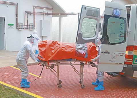 Domo de UTI del Japonés recibió a sus  primeros pacientes