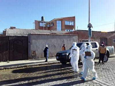 Inicia el rastrillaje 'casa por casa' para detectar casos de COVID-19 en El Alto