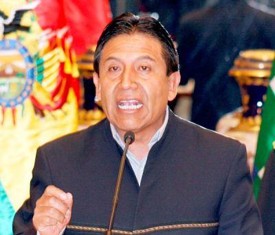 Choquehuanca a Murillo: 'No seas ladrón, no seas mentiroso, no seas flojo'