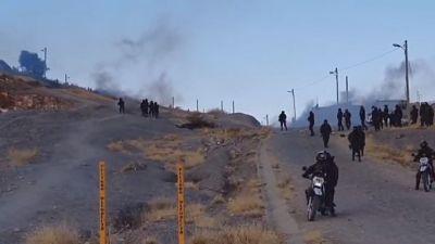 Gobierno investiga uso dinamitas y agentes químicos por parte de los movilizados en K'ara K'ara