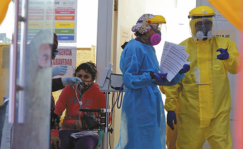 Alertan que Bolivia está rumbo a una pandemia explosiva