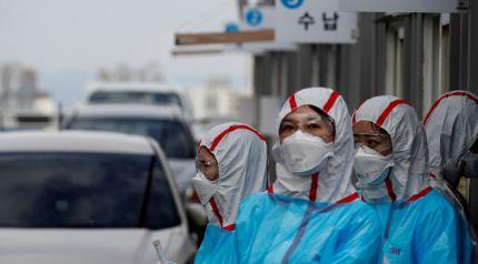 Se-propaga-en-Corea-del-Sur-una-cepa-de-coronavirus-seis-veces-mas-infecciosa-que-la-original