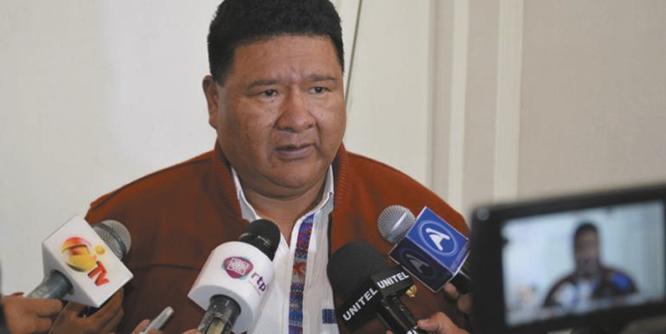 Choque pide a las organizaciones sociales y al TSE buscar un consenso
