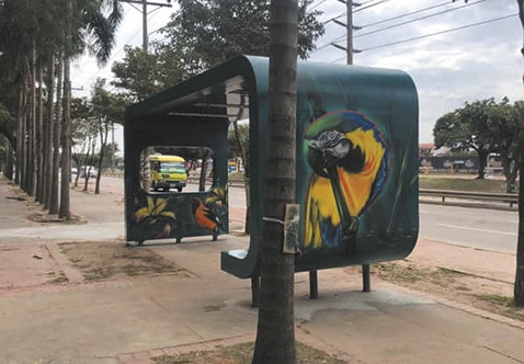 Invitan a pintar los espacios públicos en la ciudad