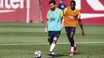 Messi-entreno-con-un-vendaje-en-el-tobillo-pero-jugara-ante-Bayern-Munich