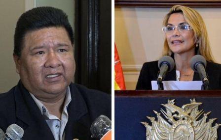 Choque-afirma-que-si-Ánez-quiere-seguir-siendo-candidata-debe-dejar-la-presidencia--en-manos-de-los-bolivianos-