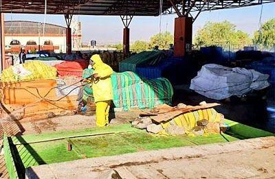 Desinfectan-mercados-de-Cochabamba-por-ampliacion-de-horarios-de-atencion-y-circulacion
