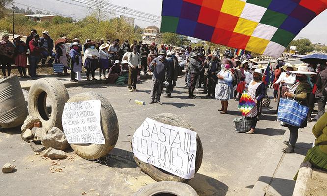 Intensifican las movilizaciones y el Gobierno anuncia demandas