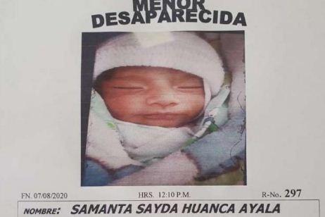 Gobierno-afirma-que-la-bebe-Samanta-sigue-en-el-pais-y-denuncia-que-recibio-informacion-falsa