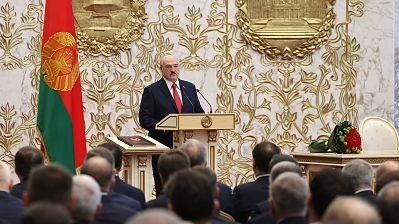 En-secreto,-el-presidente-de-Bielorrusia-asumio-su-sexto-mandato-en-medio-de-la-crisis