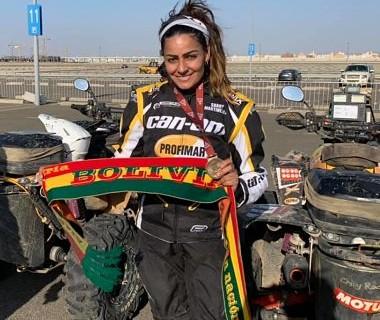Suany-Martinez,-la-latinoamericana-que-termino-en-el-top-10-del-Rally-Dakar