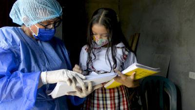 Inicio de inscripción escolar condicionada por la pandemia