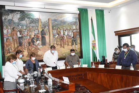 Concejo Municipal aprueba Ley de Homenaje Póstumo a Dora Baldivieso