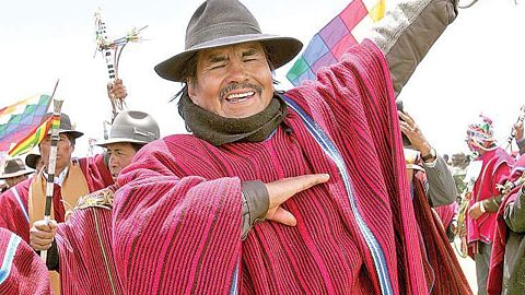 Confirman la muerte de Felipe Quispe, el 'Mallku'