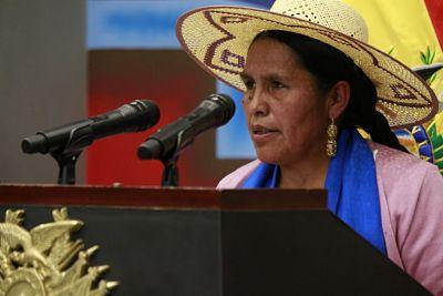Orellana denuncia irregularidades en el Ministerio de Culturas durante el periodo transitorio