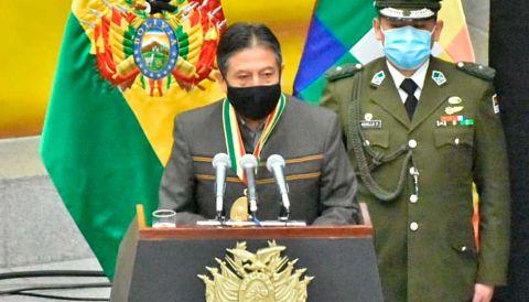 Choquehuanca llama a 'desmontar el miedo' para encarar la segunda ola de la pandemia