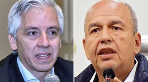 García Linera afirma ya no temer a Murillo y éste le recomienda 'no salir a la calle'