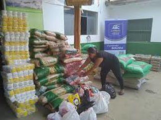 Guanay recibe ayuda humanitaria de la ABC