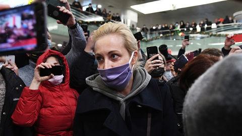 Arrestan-y-luego-liberan-a-la-esposa-del-lider-opositor-ruso-Alexei-Navalni