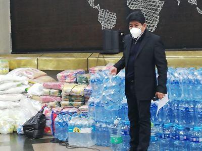 Ministerio de Obras Públicas envía más 1,5 toneladas de ayuda a Guanay