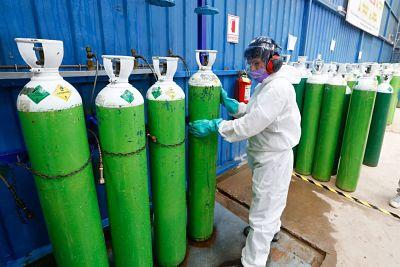 Aumenta demanda de oxígeno medicinal en La Paz