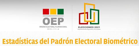 Padrón: 7.131.075 de bolivianos están habilitados para votar el 7 de marzo