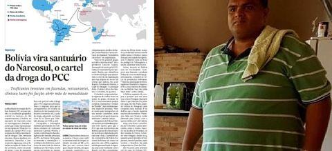 Reportaje en Brasil señala que Bolivia se convirtió en un 'santuario' del cartel narco del PCC