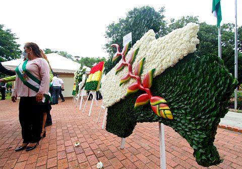 Santa Cruz celebró 460 años de su fundación