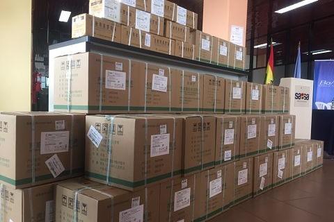 Llega-a-Bolivia-nuevo-lote-de-medicamentos-para-combatir-el-COVID-19