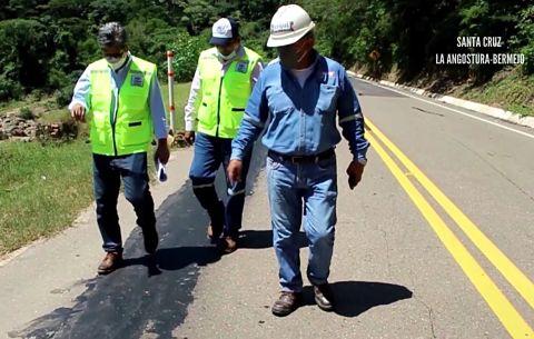 Identifican 18 puntos críticos en la carretera a los valles cruceños