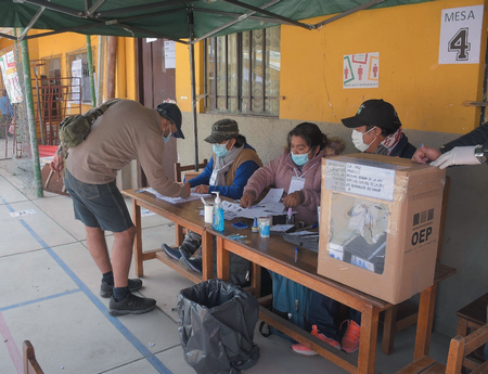 Ausentismo en jornada electoral, llega al 50% en algunas secciones