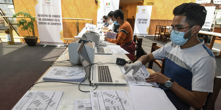 Cómputo oficial avanza con lentitud, TSE espera entregar los resultados en siete días