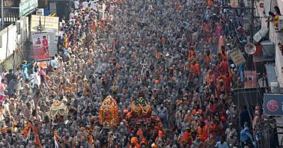 En-medio-de-masivos-eventos-religiosos,-la-India-marco-otro-record-de-casos-diarios-de-coronavirus
