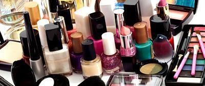 El gasto en productos cosméticos por países