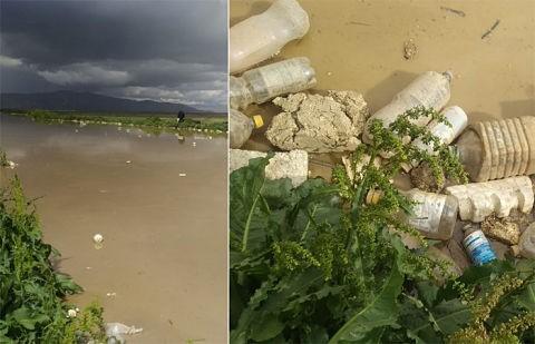 La-basura-arrastrada-desde-las-urbes-causa-un-drama-en-una-comunidad-rural