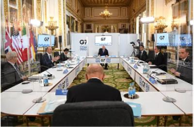 Coronavirus-y-vacunacion-mundial:-temas-de-la-primera-reunion-presencial-del-G7