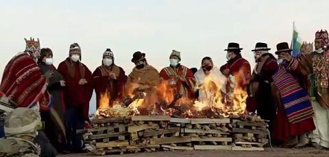 Autoridades-del-Estado-reciben-el-Ano-Nuevo-Andino-Amazonico-en-Tiwanaku