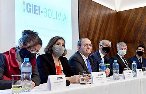 GIEI-Bolivia entregó su informe final sobre hechos de violencia de 2019