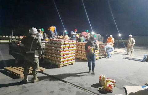 Decomisan 60 toneladas de cerveza de contrabando en Puerto Quijarro