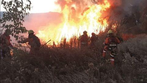 Tres incendios de magnitud se registran en Santa Cruz