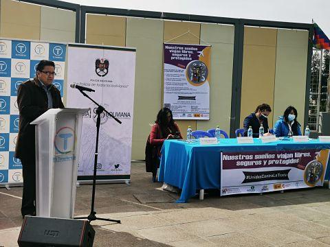 Ministerio de Justicia lanza campaña de prevención de trata de personas y tráfico de migrantes