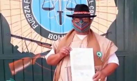 Dirigente de Conamaq presenta denuncia penal contra el presidente del Comité Cívico cruceño