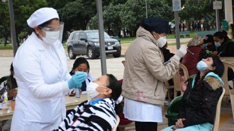 COVID-19: Bolivia registra descenso de casos por quinceava semana consecutiva