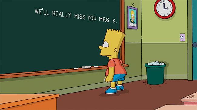 """[IMPACTO] Marcia Wallace, la voz en inglés de la profesora Krabappel en """"Los Simpson"""", murió a los 70 años The-simpsons-chalkboard-marcia-wallace1000699_04112013_www_pizquita_com_1001"""